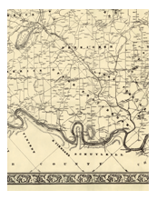 PA State Archives MG Montgomery County Map Interface - Map of us in 1848