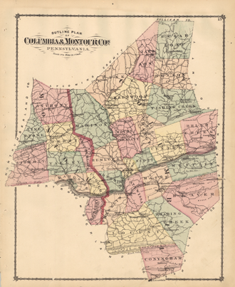 PA State Archives - MG-11 - 1876 Columbia and Montour County ...