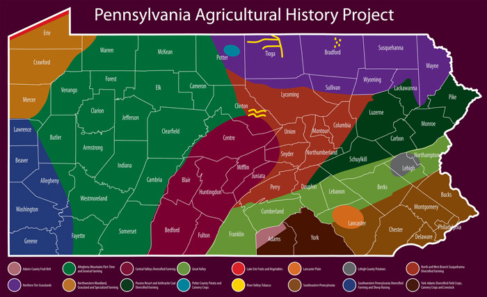 History | PHMC > Pennsylvania Agricultural History Project on map of baltimore county pa, events of york county pa, map of adams county pa, map of erie county pa, map of san diego county ca, map of york college pa, map of douglas county or, map of grafton, il, map of york county nc, map of new castle county de, map of york county ne, map of mckean county pa, map of franklin county pa, map of cumberland county pa, map of warren county pa, map of chester county pa, map of potter county pa, map of york city pa, cities in lebanon county pa, map of pennsylvania,