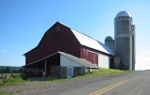 Bradford County Barn With Gambrel Roof