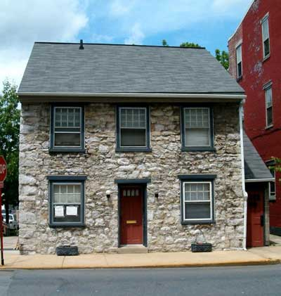 Colonial period 1640 1800 phmc pennsylvania for German colonial house