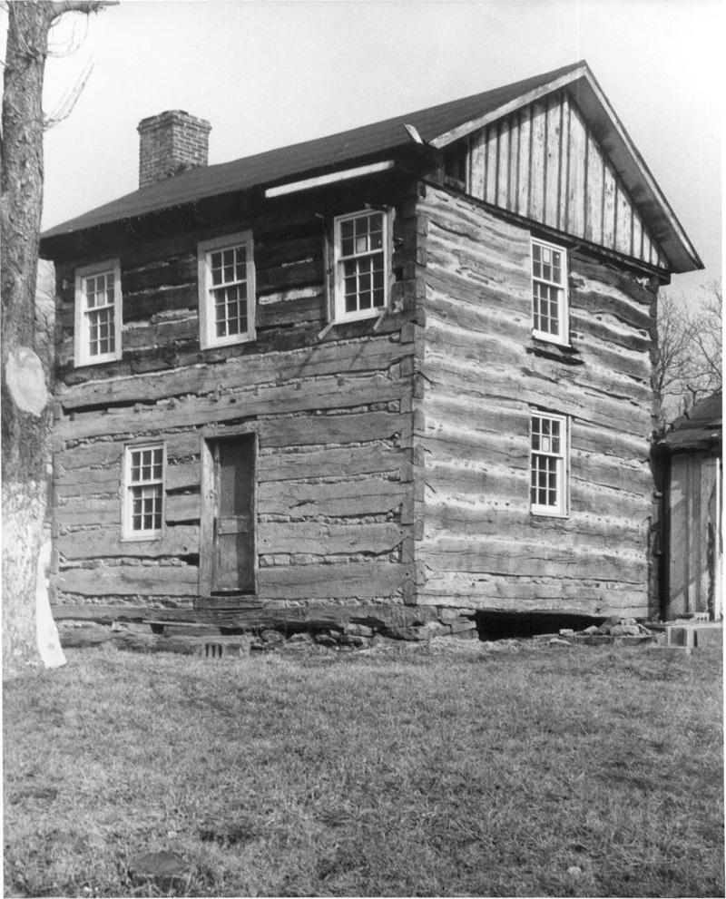 Log Buildings 1638 1880 Phmc Gt Pennsylvania Architectural Field Guide