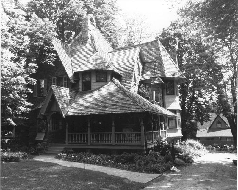 shingle style 1880 1900 phmc pennsylvania architectural field
