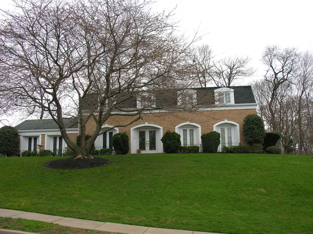 Example Of A Neo French House Montgomery County