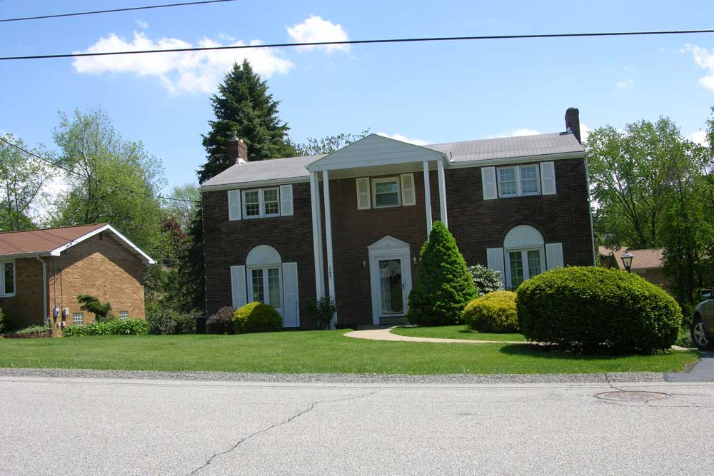 Example Of A NeoClassical Revival Allegheny County